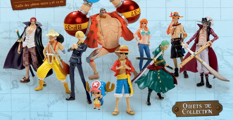 comment se procurer des figurines des personnages de one piece la une des journaux. Black Bedroom Furniture Sets. Home Design Ideas